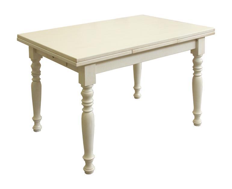 tavolo rettangolare allungabile con cassetto 120 200 cm arteferretto. Black Bedroom Furniture Sets. Home Design Ideas