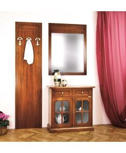 mobili ingresso, pannello con specchio
