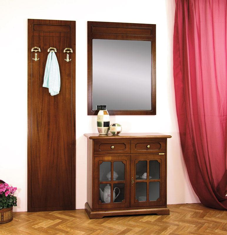 Mobile ingresso corridoio composizione credenzina+specchiera ...