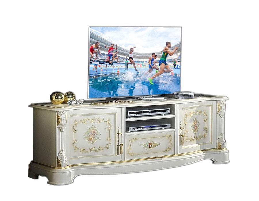 Mobile tv decorato laccato arteferretto - Mobili tv girevoli ...
