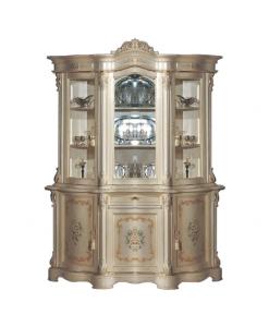 Cristalliera classica decorata 3 ante Arteferretto