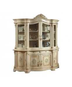 Cristalliera classica laccata e decorata Arteferretto