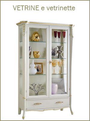 Categoria mobili vetrine e vetrinette, perfette in ogni stanza per esporre stoviglie, foto, collezioni