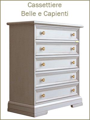 Categoria comò e cassettiere da camera da letto o ufficio, da 3 a 7 cassetti, pratiche e eleganti