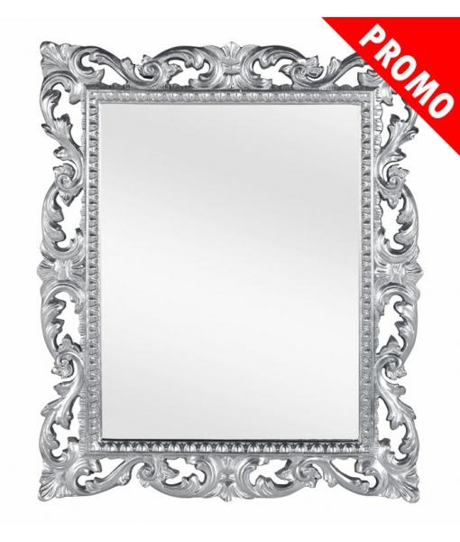 Specchiera cornice legno foglia oro o foglia argento, Art. DB-883