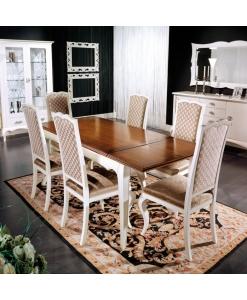 tavolo rettangolare, tavolo allungabile