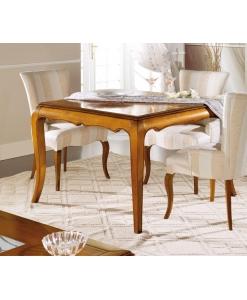 tavolo quadrato, tavolo allungabile
