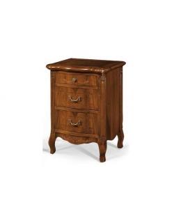 comodino, comodino classico, comodino in legno, comodino per camera da letto