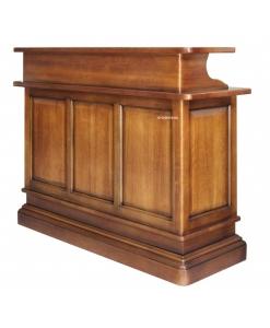 Bancone da bar in legno