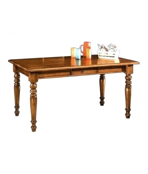 Tavolo rettangolare fisso in legno, Art. E-689