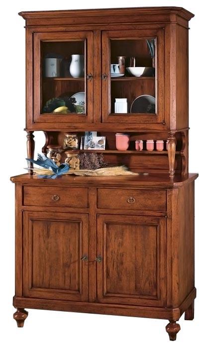 Credenza classica arte povera, mobile credenza in legno massello per ...