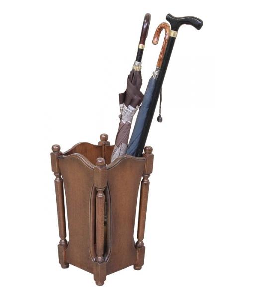 Portaombrelli in legno stile classico - ArteFerretto