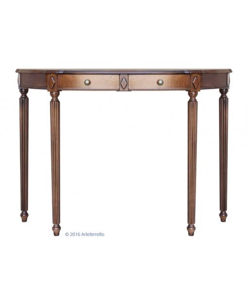 Consolle in legno intagliato da ingresso o salotto, Art. ER-2047
