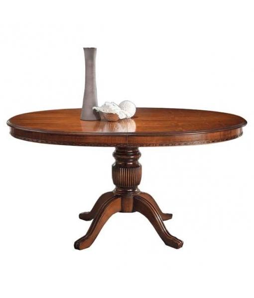 Tavolo ovale allungabile cm 160 arteferretto - Tavolo ovale cucina ...