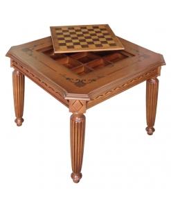 tavolino con dama