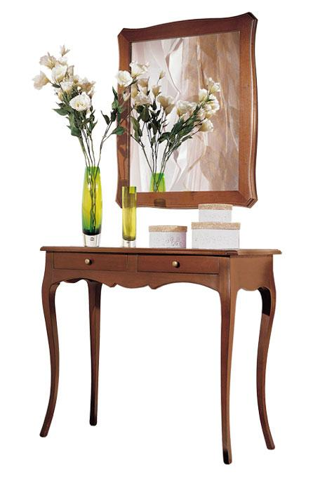 ... sagomata e specchio, mobili composizione per ingresso stile classico