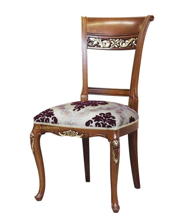 Sedia in stile 700 veneziano - ArteFerretto