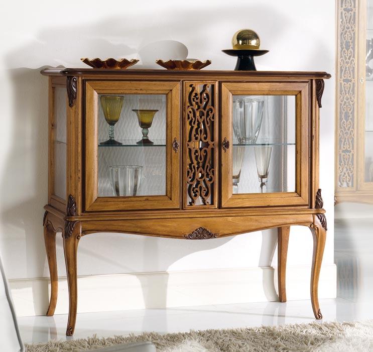 mobili per soggiorno in legno. mobile soggiorno componibile in ... - Vetrine Da Soggiorno Classiche