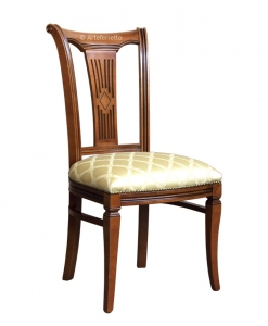 sedia, sedia in stile, sedia intagliata