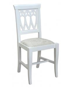 sedia tradizionale bianca
