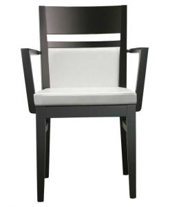 sedia con braccioli, sedia