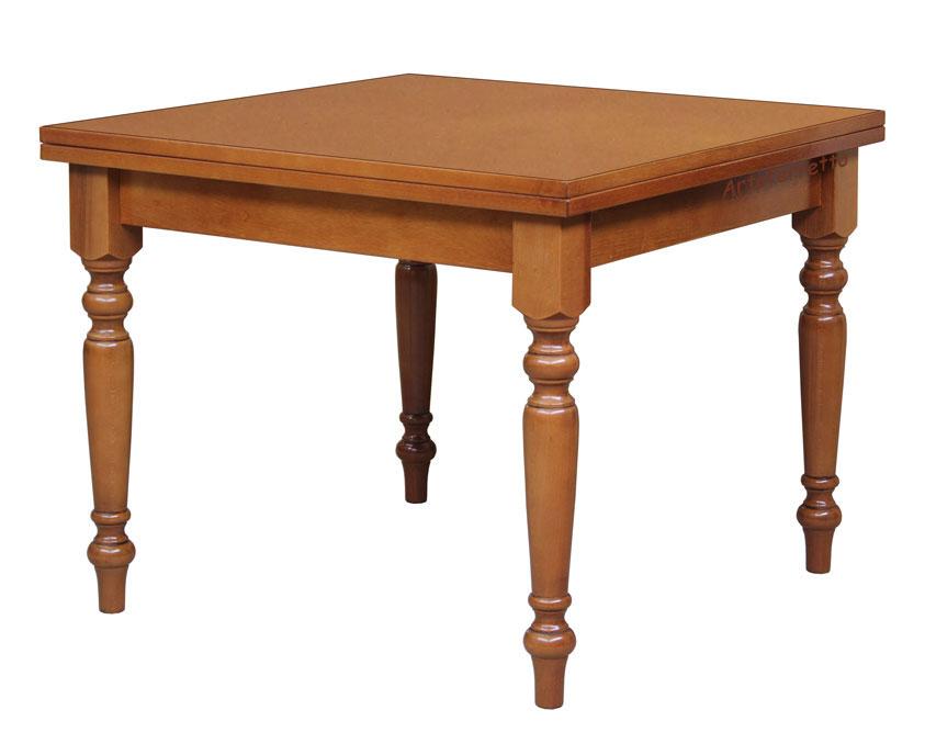 Tavolo allungabile sala da pranzo apertura a libro tavolo - Tavolo cucina quadrato ...