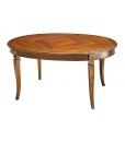 tavolo intarsiato, tavolo ovale