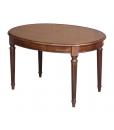 Tavolo ovale elegante e allungabile