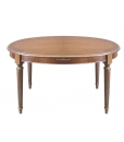Tavolo ovale elegante per sala da pranzo o cucina