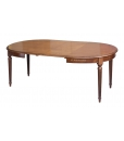 Tavolo da sala da pranzo allungabile di forma ovale, Art. FV-39B_styl3