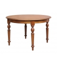 tavolo rotondo, tavolo arrotondo allungabile, tavolo in legno
