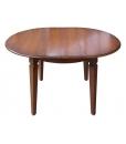 tavolo rotondo allungabile, tavolo rotondo, tavolo per cucina, tavolo in legno