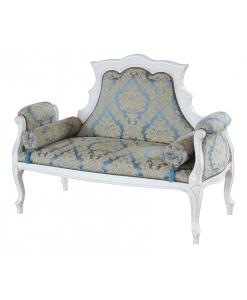 divanetto, divanetto in legno, arredo soggiorno