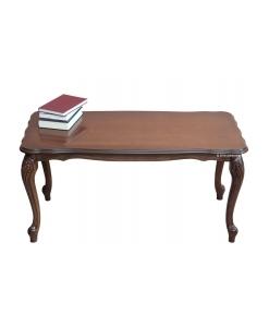Tavolino da salotto basso da tè in legno per soggiorno