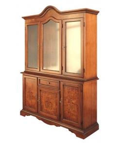 cristalliera classica, mobile per soggiorno, cristalliera per soggiorno