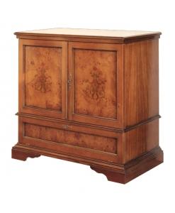 mobile porta tv, porta tv, mobile per soggiorno, mobile in legno, porta tv con intarsi