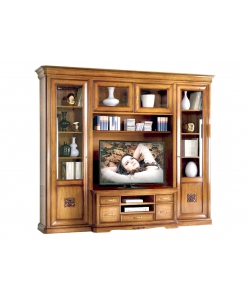 Composizione parete TV per soggiorno