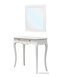 composizione ingresso, specchio, consolle, mobile per ingresso