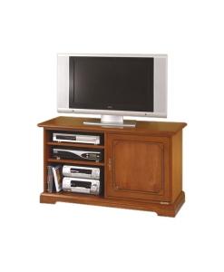 Porta tv, Porta tv arteferretto made in Italy ciliegio 3814-L