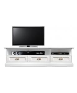 Mobile TV design moderno con 3 cassetti dal gusto classico