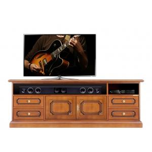 Mobile porta tv in legno con ante e cassetti