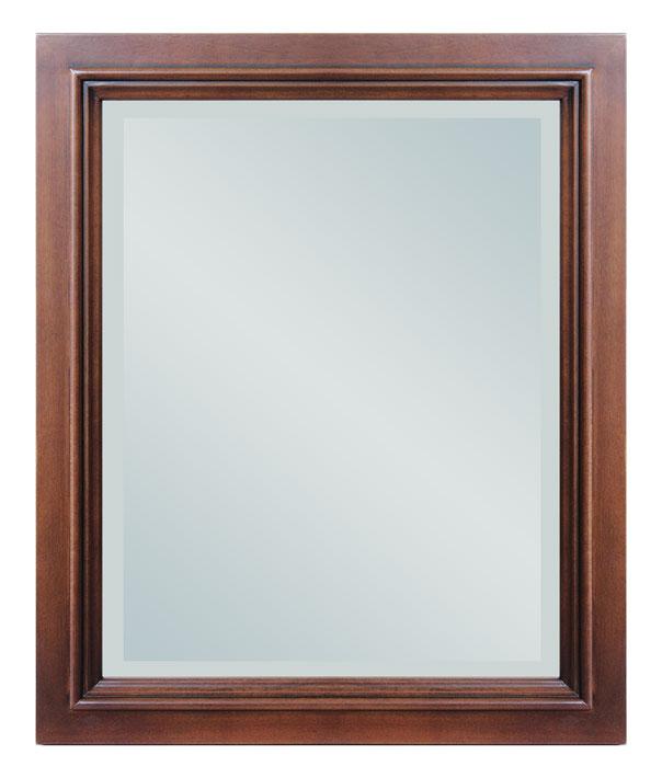 Specchiera con cornice legno massello specchio da parete - Specchio rettangolare da parete ...