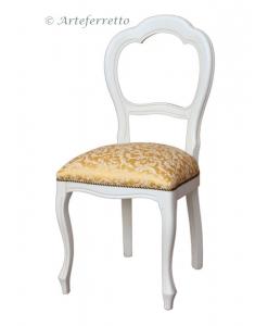 sedia classica laccata, sedia