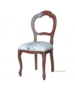 Sedia classica in legno di faggio