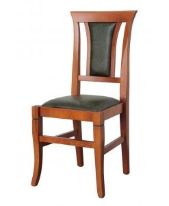Sedia in stile classico, cod. articolo: VIS-318. Codice Tessuto: LU-48
