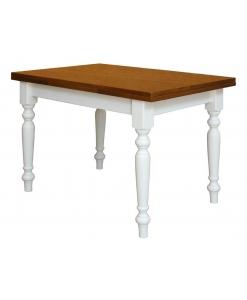 tavolo bicolore, tavolo rettangiolare