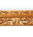 Specchiera art. 1135 - Dettaglio patinatura e sfumature con terre