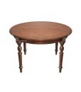 Tavolo rotondo allungabile per sala da pranzo, Arteferretto