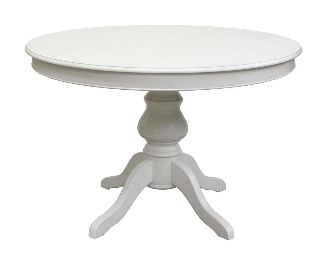 Tavolo tondo con allunghe stile luigi filippo 110 cm arteferretto - Tavolo pranzo ikea ...