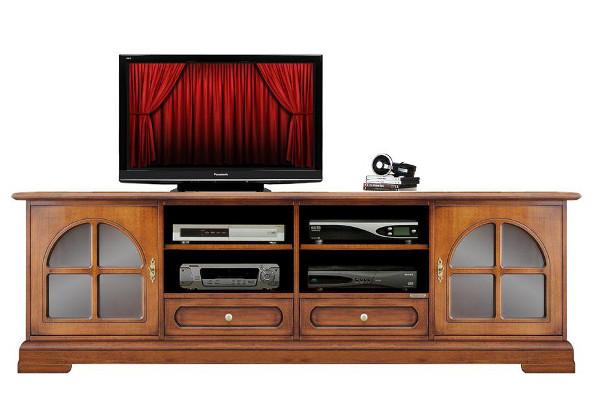 porta tv 2 cassetti basso